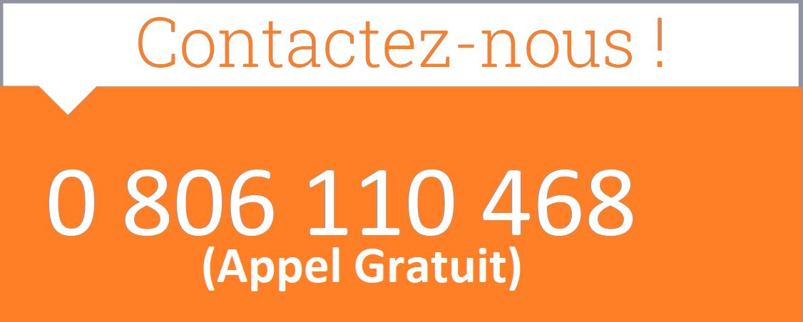 Service gratuit + prix appel 0 809 100 114